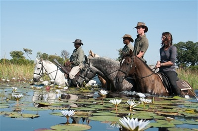 Riding Safari in Botswana's Okavango Delta