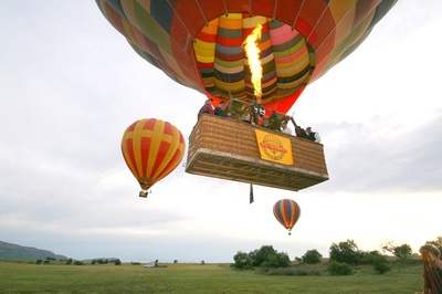 Hot Air Ballooning, Magaliesberg, South Africa